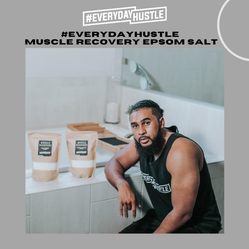 #EverydayHustle Muscle Recovery Epsom Salt2